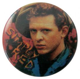 Simply Red - 'Mick' Button Badge